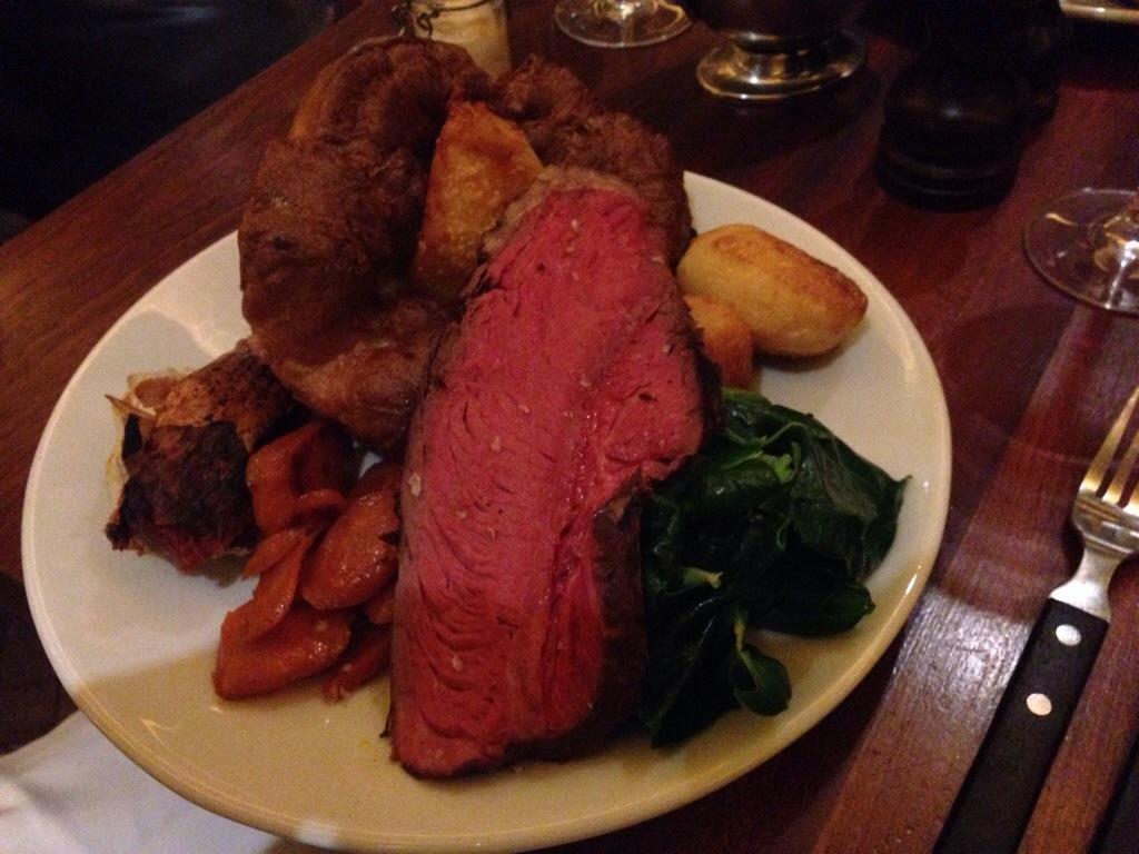 Hawksmoor Sunday Roast >> Hawksmoor – Sunday Lunch | Rob's Food Blog